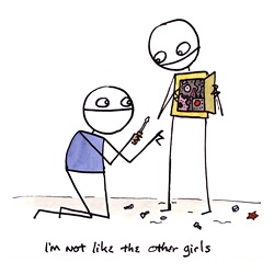 I am not like the other girls, by Sam Brown
