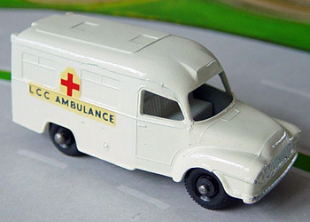 Lesney Lomas Ambulance